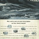 1950 ad  New York Central System    Ceiling Zero    The Water Level Route  Art by Herb Olsen
