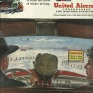 1950 United Aircraft Corporation  airline ad  The Air Is Yours