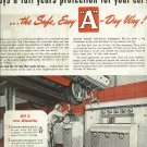 1950 Alemite ad  Stewart Warner product  Full Page
