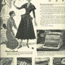 the Gray Magic Royal typewriter 1950 Full Page ad