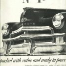 1950 Plymouth Full Page ad   Chrysler Corporation