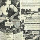 1950 Borg Warner Ad  B W Overdrive with Mrs James T. Phillips