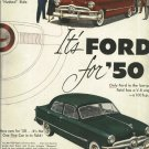 1950 FORD car ad   New Fashion Car Styling