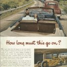 1950 Caterpillar Tractor Company ad     How Long Must This Go On