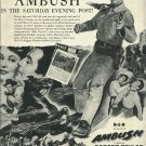 1950 MGM ad  western movie AMBUSH with Robert Taylor Arlene Dahl