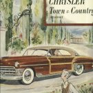 1950 Chrysler Town & Country magazine ad Newport   artwork by Frederick Siebel
