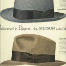 1950 Stetson hat ad  Ambassador and Embassy hats