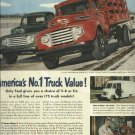 1950 Ford truck ad  21 smart ideas  shows Ford Models  F-7, F-5 and F-1