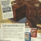 1950 Betty Crocker cake mixes ad    SAILOR BEATS MATE