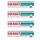 4x LACALUT SENSITIVE Daily Medical Toothpaste Made in Germany 75ml