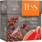 TESS COSMOPOLITAN PARTY Fruit Tea Hibiscus Cranberry & Grapefruit Flavor Box