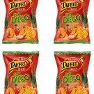 4 x TAFFEL San Diego Spicy Tomato Flavor Potato Chips European Snacks 150g 5.3oz