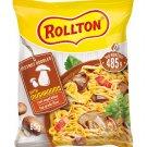 12 x ROLLTON MUSHROOM Instant Ramen Noodles Soup With Dried Mushrooms 85g 3oz