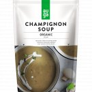Organic Creamy Champignon Soup Meal Ready To Eat Instant Soup Pack MRE 400g