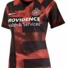 Nike Portland Thorns FC Stadium 2019 Soccer Jersey black red women Size XS