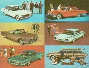 Treasury of 1960 Fords E-Book Ford Falcon Thunderbird