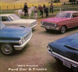 Treasury of 1964 Fords E-Book including 1965 Mustang