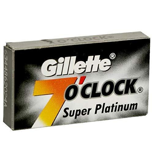 7O'Clock Super Platinum - Premium Salon Box (100 Blades)