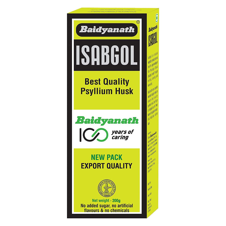 Baidyanath Isabgol - Psyllium Husk Powder made from Premium isabgol seeds