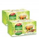 DABUR Vedic Suraksha Green Tea | Builds Immunity 25 TEA BAGS PACK OF 2