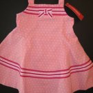 NWT GYMBOREE 2T CANDY APPLE pink dot SWING DRESS
