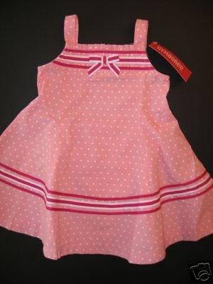 NWT GYMBOREE 2T CANDY APPLE pink dot SWING DRESS