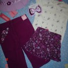 NWT gymboree 3 3T ROMANTIC GARDEN 5 pc GIFT set, outfit