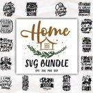 Huge Home SVG Quotes Bundle Typography, SVG,PNG,DXF,JPG