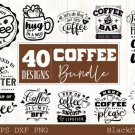 HUGE bundle containing 40 designs in SVG EPS PNG and DXF files