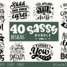 HUGE bundle containing 40 designs in SVG EPS PNG and DXF files – vol 2