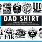HUGE bundle Dad Shirt Bundle Desing T-shirt in SVG EPS PNG and DXF files