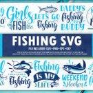 HUGE bundle Fishing Bundle Desing T-shirt in SVG EPS PNG and DXF files
