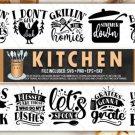 HUGE bundle Kitchen Bundle Desing T-shirt in SVG EPS PNG and DXF files