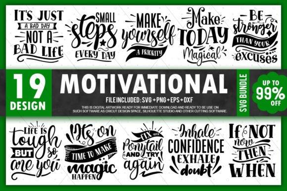 HUGE bundle Motivational Quotes Bundle Desing T-shirt in SVG EPS PNG and DXF files
