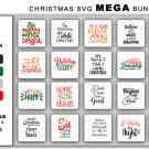 HUGE bundle Christmas Mega Bundle Graphic Desing T-shirt in SVG EPS PNG and DXF files