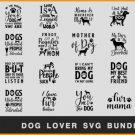 HUGE bundle Dog Lover Bundle Graphic Desing T-shirt in SVG EPS PNG and DXF files