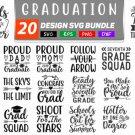 HUGE bundle Graduation Bundle Graphic Desing T-shirt in SVG EPS PNG and DXF files