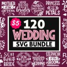 HUGE bundle Wedding Mega Bundle Graphic Desing T-shirt in SVG EPS PNG and DXF files