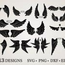 HUGE bundle Angel-Bundle-Angel-Wing Bundle Graphic Desing T-shirt in SVG EPS PNG and DXF files