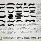 HUGE bundle Banner-Ribbon-Banner Graphic Desing T-shirt in SVG EPS PNG and DXF files