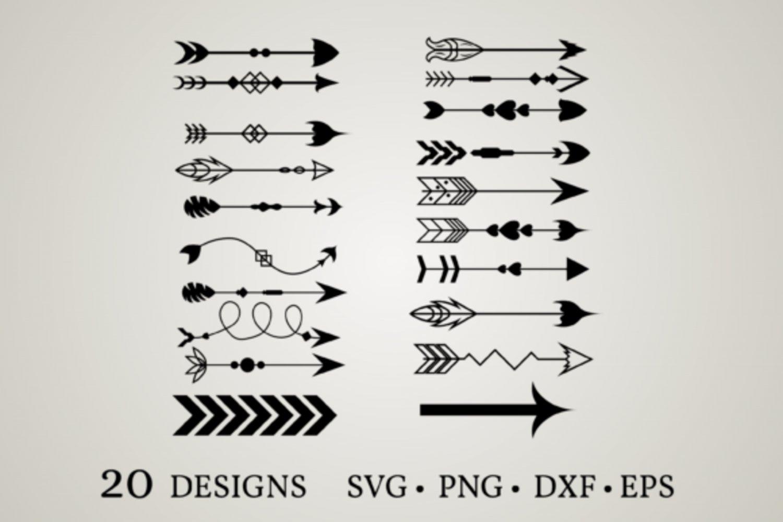 HUGE bundle Arrow-Bundle-Arrow-Clipart Graphic Desing T-shirt in SVG EPS PNG and DXF files