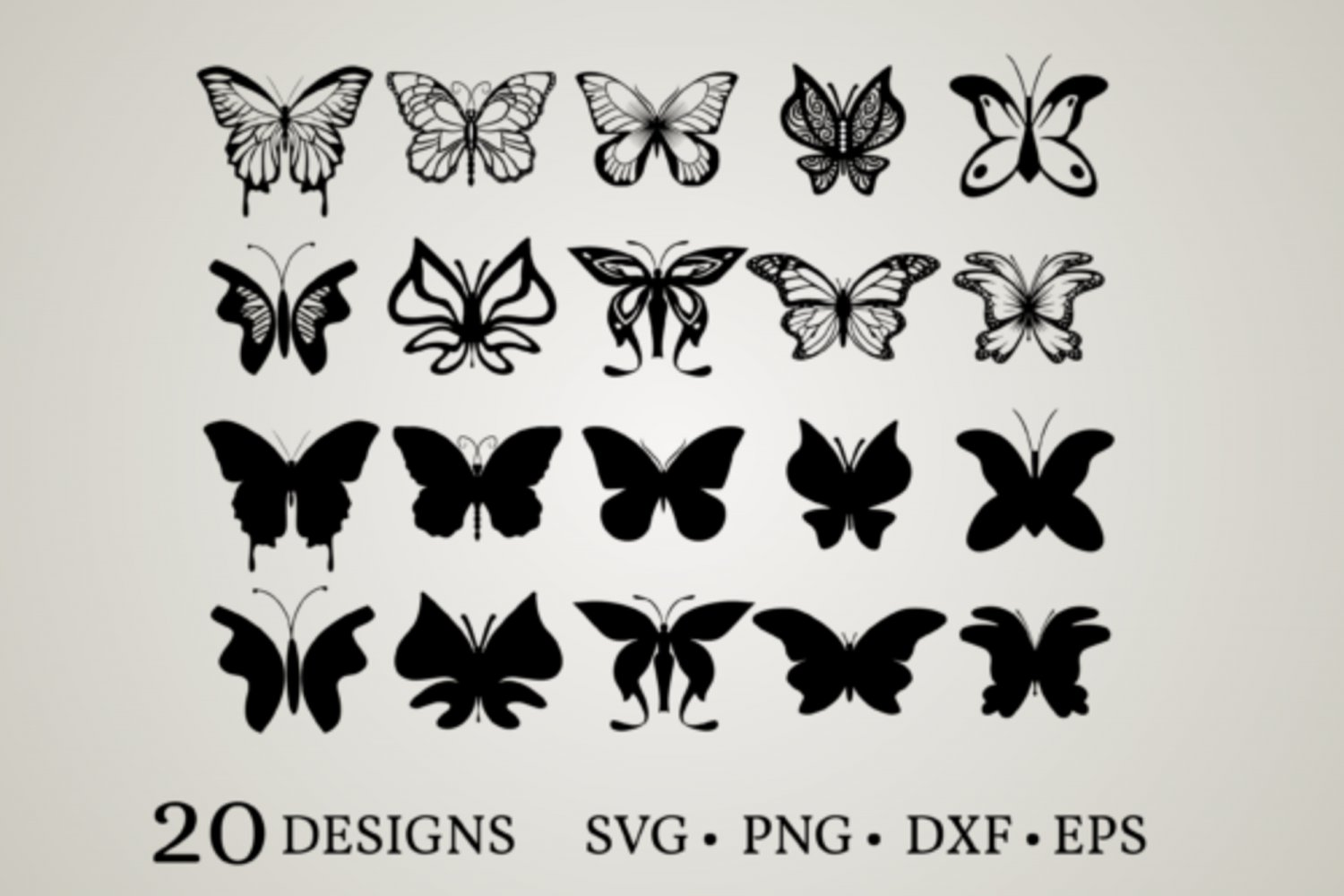 HUGE bundle Butterfly-Bundle-Butterfly Graphic Desing T-shirt in SVG EPS PNG and DXF files