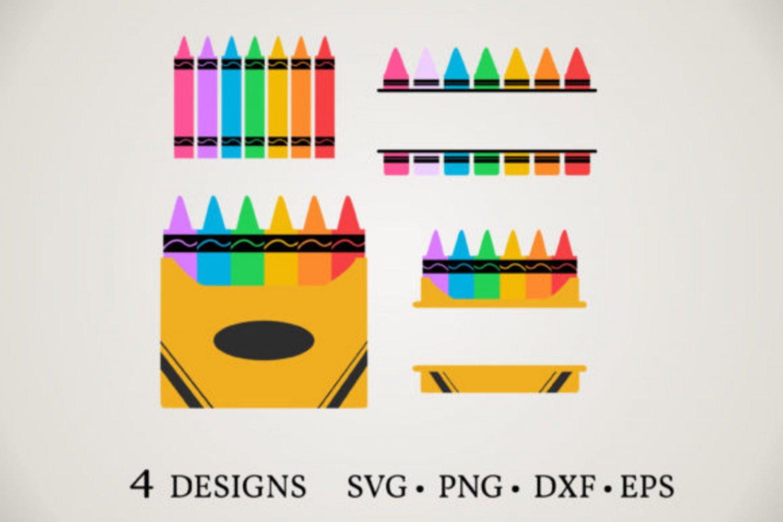 HUGE Bundle Crayon-Bundle-Crayon Graphic Desing T-shirt in SVG EPS PNG and DXF files
