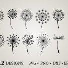 HUGE Bundle Dandelion-Bundle-Dandelion Graphic Desing T-shirt in SVG EPS PNG and DXF files
