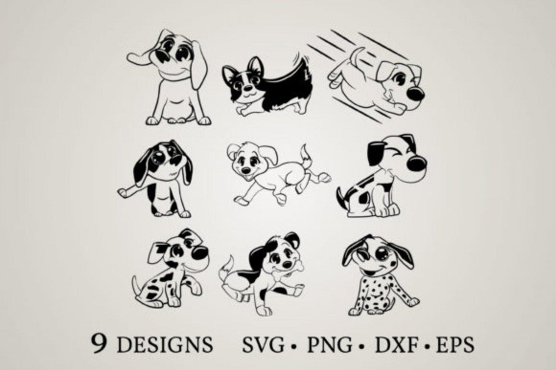 HUGE Bundle Dog-Bundle Graphic Desing T-shirt in SVG EPS PNG and DXF files