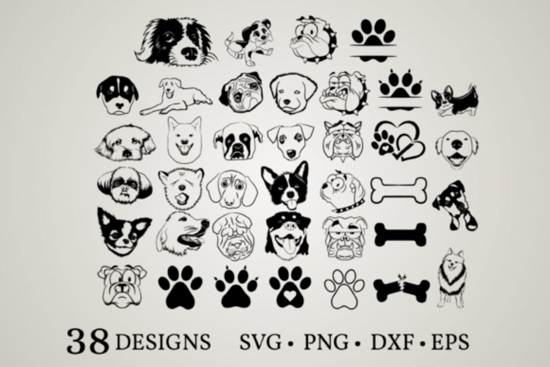 HUGE Bundle Dog-Bundle-Dog-Corgi Graphic Desing T-shirt in SVG EPS PNG and DXF files