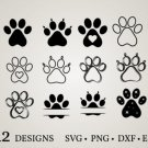 HUGE Bundle Dog-Paw-Bundle-Dog-Paw Graphic Desing T-shirt in SVG EPS PNG and DXF files