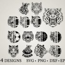 HUGE Bundle Tiger-Bundle Graphic Desing T-shirt in SVG EPS PNG and DXF files