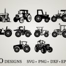 HUGE Bundle Tractor-Bundle-Tractor Graphic Desing T-shirt in SVG EPS PNG and DXF files