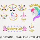 HUGE Bundle Unicorn-Bundle Graphic Desing T-shirt in SVG EPS PNG and DXF files
